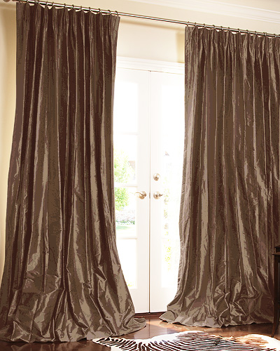 THE | OUTLET - Solid Silk Dupioni in Slate